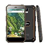 Outdoor Handy - Nomu S10 4G-LTE Dual Sim Outdoor Smartphone ohne Vertrag, 5000mAh Akku, 5,0 Zoll Gorilla Glasschirm, IP68 + Wasserdichtes Stoßfestes Outdoorhandy, Android 6.0, 2GB RAM + 16GB ROM, GPS