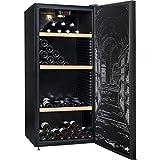 Climadiff CLPP150 Cave à Vin 150 bouteilles Classe: A Noir