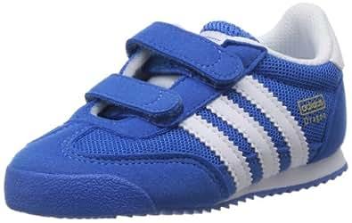 adidas Originals Dragon Cf I, Baskets mode mixte bébé - Bleu (Bleazu/Runwht/Runwht), 22 EU