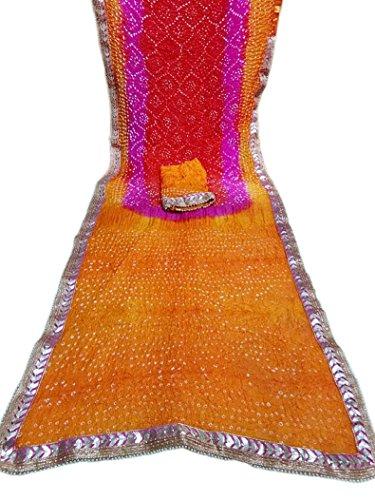 NS Creation Rajasthani Japuri pure georgtte with zari work original dollar boutie...