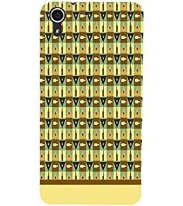 PrintDhaba Bottle Pattern D-1944 Back Case Cover for HTC DESIRE 728 (Multi-Coloured)