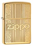 Best BIC Lighter Fluids - Zippo Unisex's Pattern Design Windproof Lighter, High Polish Review