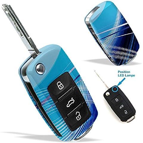 La cobertura de la llave de SEAT VW SKODA con Diseño fantasy 3