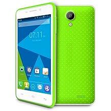 Doogee Mobile LEO DG280 Negro, Color blanco - Smartphone (SIM doble, Android, MiniSIM + MicroSIM, GSM, WCDMA, Micro-USB)