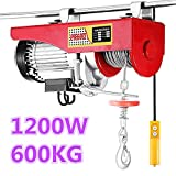 Flaschenzug Seilwinde ,Winde elektrisch,Vier Modelle: 200 kg - 800 kg, (1200W,300/600KG)