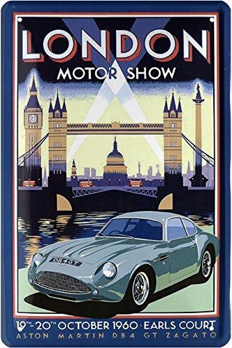 aston-martin-db4-london-1960-car-auto-targa-20-x-30-retro-lamiera-1698