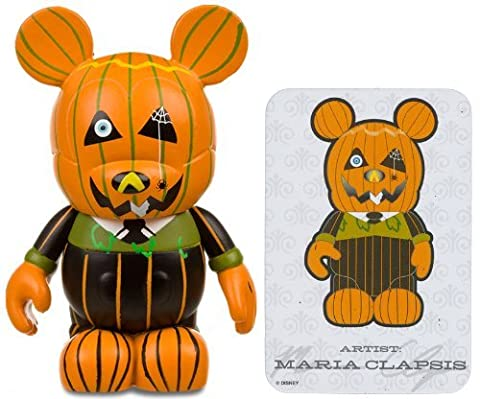 Jack O'Lantern by Maria Clapsis - Disney Vinylmation ~ 3 Holiday Series # 1 Designer Figure (Disney Theme Parks Exclusive) by Disney [parallel import goods]