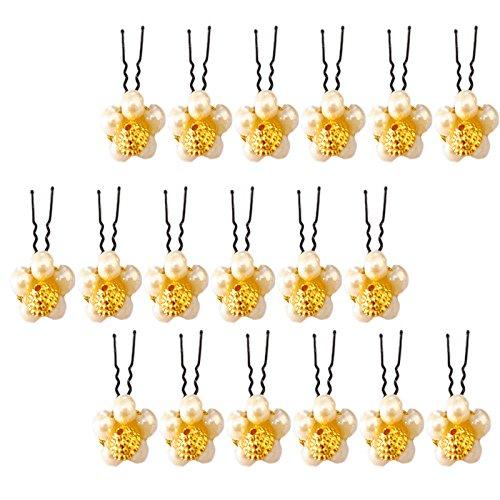 Bridal Hair Accessories/Fancy Juda Pins for Bun Decoration/Juda pins for Hair for...