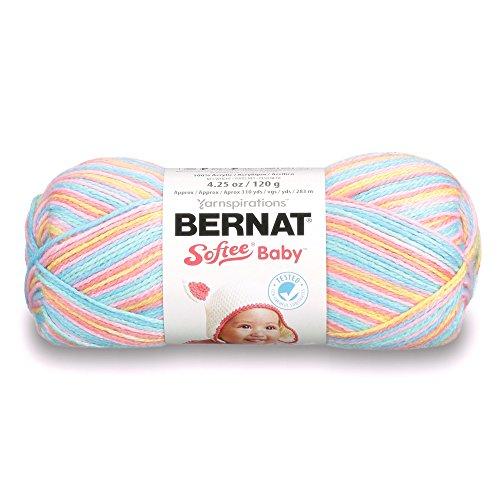 Bernat Softee Baby-Garn, Sonstige, Mehrfarbig, 10.94 x 20.329999999999998 x 11.62 cm -