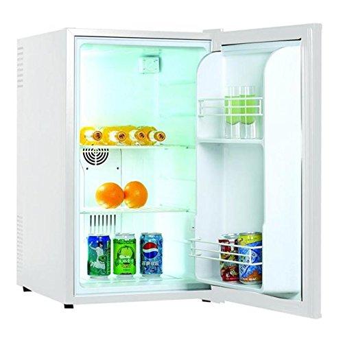 Klarstein 10003458 Mini-Kühlschrank / C / 227 kWh/Jahr / 74 cm / 70 Liter Kühlteil / Minibar / weiß
