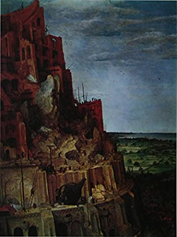 Detail from 'The Tower of Babel' - Bruegel - Framed Picture 11 x 14