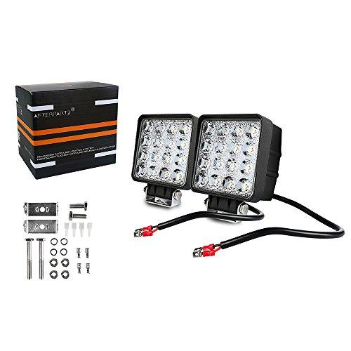 12 D4 AFTERPARTZ LED Arbeitsscheinwerfer Bar CREE Chips 6340LM Combo Reflektor Scheinwerfer Arbeitslicht