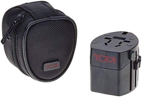 Tumi Adaptador de viaje 014385D Negro 0. L