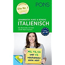 PONS Grammatik kurz und bündig Italienisch - Der Grammatik-Bestseller* mit dem Leicht-Merk-System