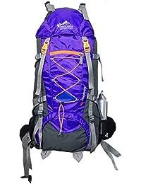 Himalayan Adventures 70 Ltrs Purple Backpack/Rucksack/Travelling Bag/Hiking Bag/Adventure Bag/Camping Bag (Nylon...