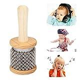 Holz Cabasa Kids Kinder Cabasa Kleine Größe Hand Shaker Kinder Percussion Instrument Vorschule Lehrwerkzeug für Schüler Kinder