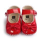 Zapatos Niña Bebe Princesa Zapatillas Bowknot Zapatos Suaves para...