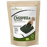 Polvo De Clorela De Pared Celular Rota Orgánica (500g), MySuperFoods, Increíble alto contenido de...