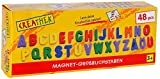 The Toy Company 12972 Creathek Magnet Großbuchstaben, 48-teilig