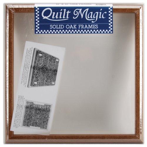 Quilt Magic 12x 12Zoll Eiche Rahmen