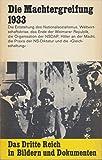 Band 1. Die Machtergreifung 1933 - 1934.