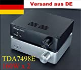 Nobsound® TDA7498E HiFi Digital-Endverstärker Dual BTL Class D 2.0 Channel Audio Amplifier HiFi...
