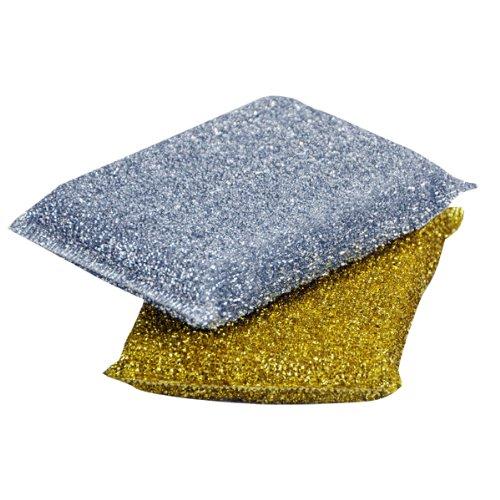 kingfisher-metallic-sponge-scourer-pads-silver-pack-of-5