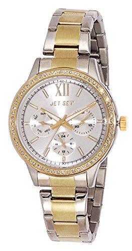 Jet Set 16216-622 Swag-J Women's Quartz Analogue Watch-White Face - 2 Tone steel Bracelet