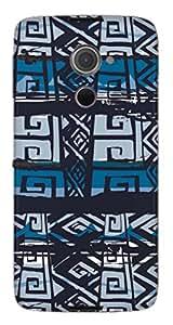 TrilMil Printed Designer Mobile Case Back Cover For Blackberry DTEK60