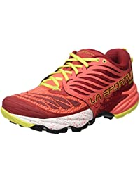 La Sportiva Akasha - Calzado para mujer, color rojo, talla 41
