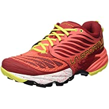 La Sportiva Akasha - Calzado para mujer, color rojo, talla 39.5