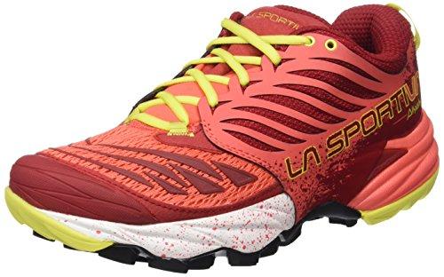 La Sportiva Akasha - Calzado para Mujer, Color Rojo, Talla 38