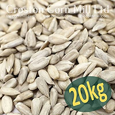 20kg SACK OF SUNFLOWER HEARTS - BIRD FOOD by Just Green
