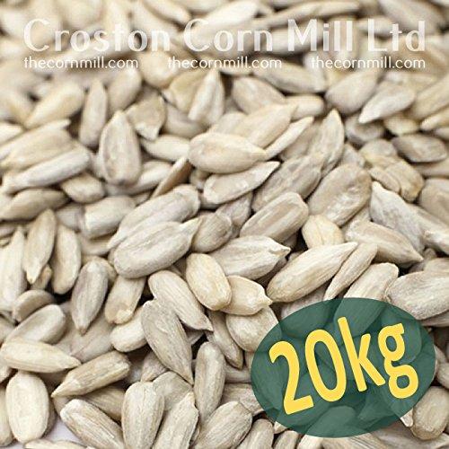 20kg SACK OF SUNFLOWER HEARTS – BIRD FOOD