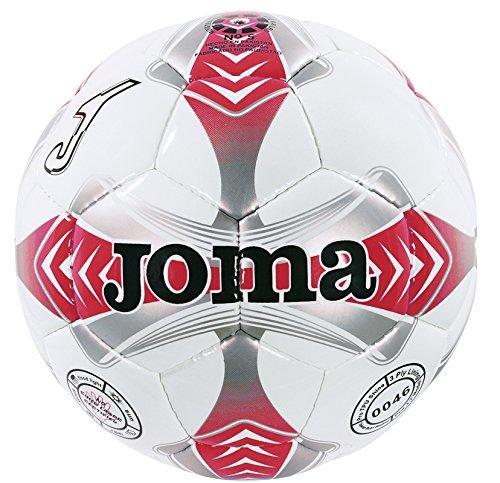 Joma - Balon Egeo 4 Blanco-Rojo-Gris