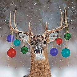 Weihnahtskarten 2016 mit dekorierten Rentieren, 8 Stück, zur Unterstützung der Wohltätigkeitsorganisation The Stroke Association