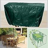 Telo Copritavolo Rettangolare Colore Verde NR10 180x100cm Altezza 90cm TagliaS