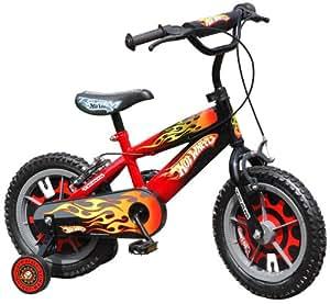 "Stamp - HW899035NBA - Vélo - Hot Wheels - 14"" - Flames"
