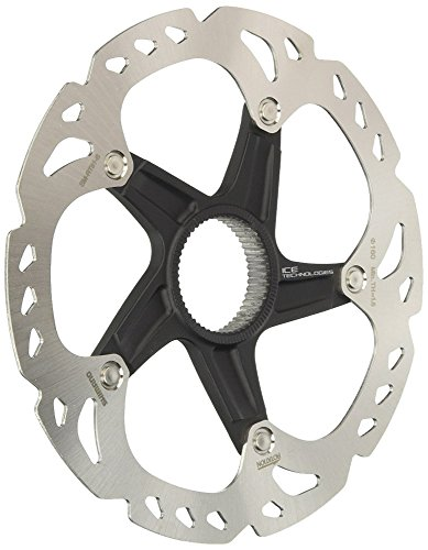 SHIMANO SM-RT81, Rotore Xt Center-Lock 180 Mm Unisex Adulto, Argento, L