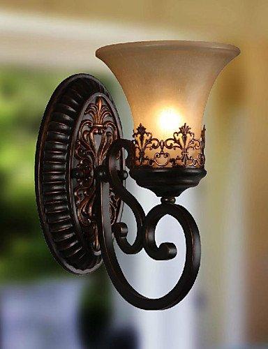 ZQ ecolight® Vintage-Wandleuchte 1 Licht mit Harzmaterial Glasschirm-Bett-Zimmer Wohnzimmer Flur Lichter , 110-120v (1 120v)