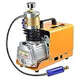 GRANVOO 220V PCP-Kompressor Hochdruck elektrische Luftpumpe Aluminium 6000psi/40MPa Für PCP Luftgewehre, Pistolen, Gewehre, Luft Treibende Zylinder, Airbags, PCP-Zylinder