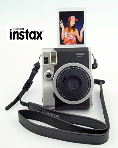 For Sale Fujifilm Instax Mini 90 Instant Camera Black + 40-shot Film + Spare Battery + Case Bundle : all you need to start Instant photography on Amazon