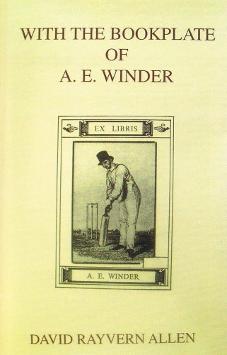 With the Bookplate of A. E. Winder por David Rayvern Allen