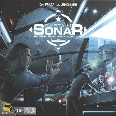 Capitaine SONAR - Captain S.O.N.A.R. - Version Française - Jeu de Société