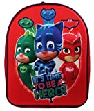 P J Masks Backpack Zainetto per bambini, 32 cm, 83 liters, Rosso (Red)