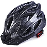 EDTara Bicycle Helmet Integrated Molding Breathable Cycling Helmet for Men Women