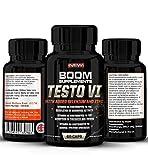 Testosteron Tabletten - #1 Testo Booster Supplement für Männer & Frauen | 60 NATÜRLICHE Testosteron Pillen Maximaler Stärke | Normalisiert Testosteronspiegel & regt Stoffwechsel an oder Geld zurück!