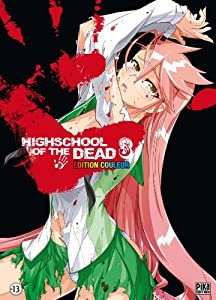 Highschool of the Dead Edition Couleur Tome 3