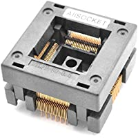 allsocket qfp80 – Enchufe IC Test de tesing 0.5 otq-80 – 0.5 – 02B 0.5 mm Pitch 12 x 12 mm IC Dimensión Open-Top Socket soldadura versión (qfp80 – 0.5-stp)