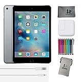 Apple iPad Mini 4 20,1 cm (7,9 Zoll) Tablet-PC (WiFi, 64GB Speicher), Space Gray + Extra Zubehör * NEUES Modell veröffentlicht September 2015 *